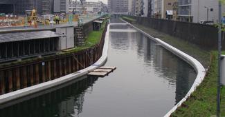 北十間川低水路整備工事(その20)