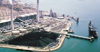 キャッスルピーク火力発電所施設造成(香港)イメージ画像