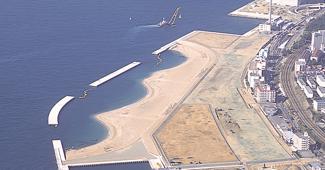 舞子海岸とマリンピア神戸(兵庫県)