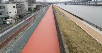 中川堤防緑化工事(その5)イメージ画像
