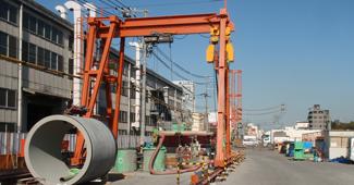 島屋北幹線下水管渠築造工事(その2)
