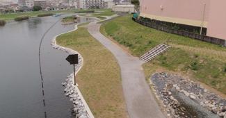 旧中川護岸整備工事(その28)