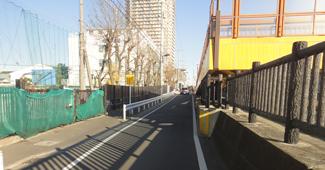 小名木川歩行者・自転車専用橋(仮称)新設工事(その3)イメージ画像